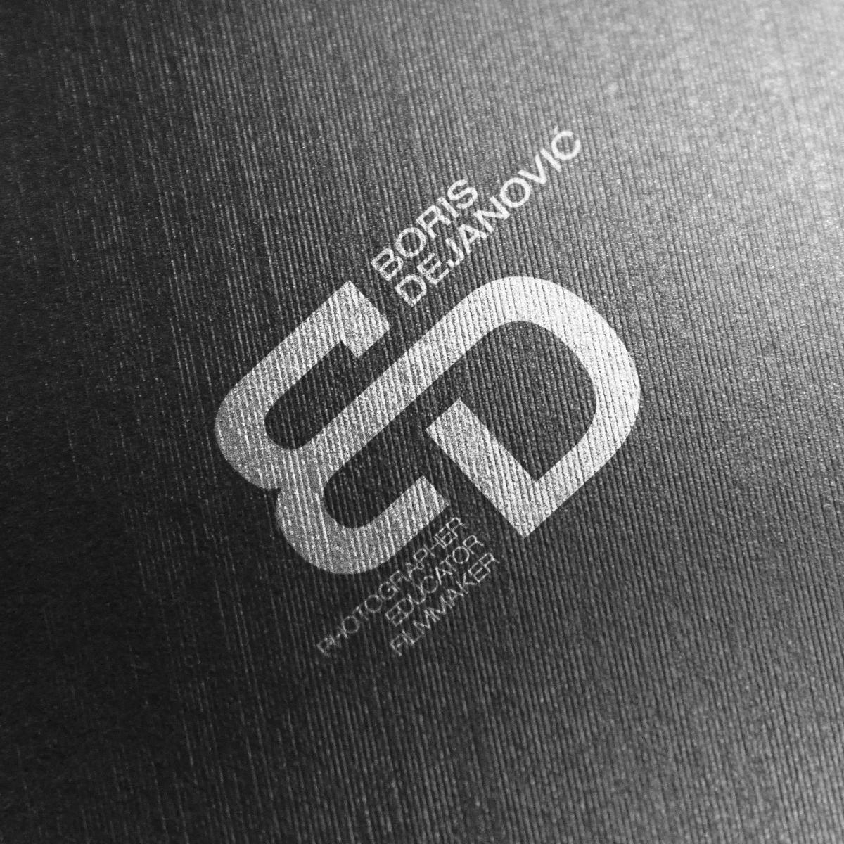 Boris Dejanović logo design