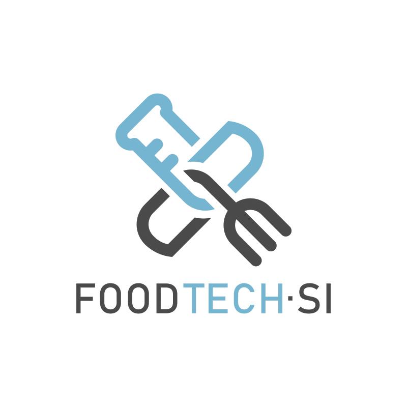 FoodTech.si logo design