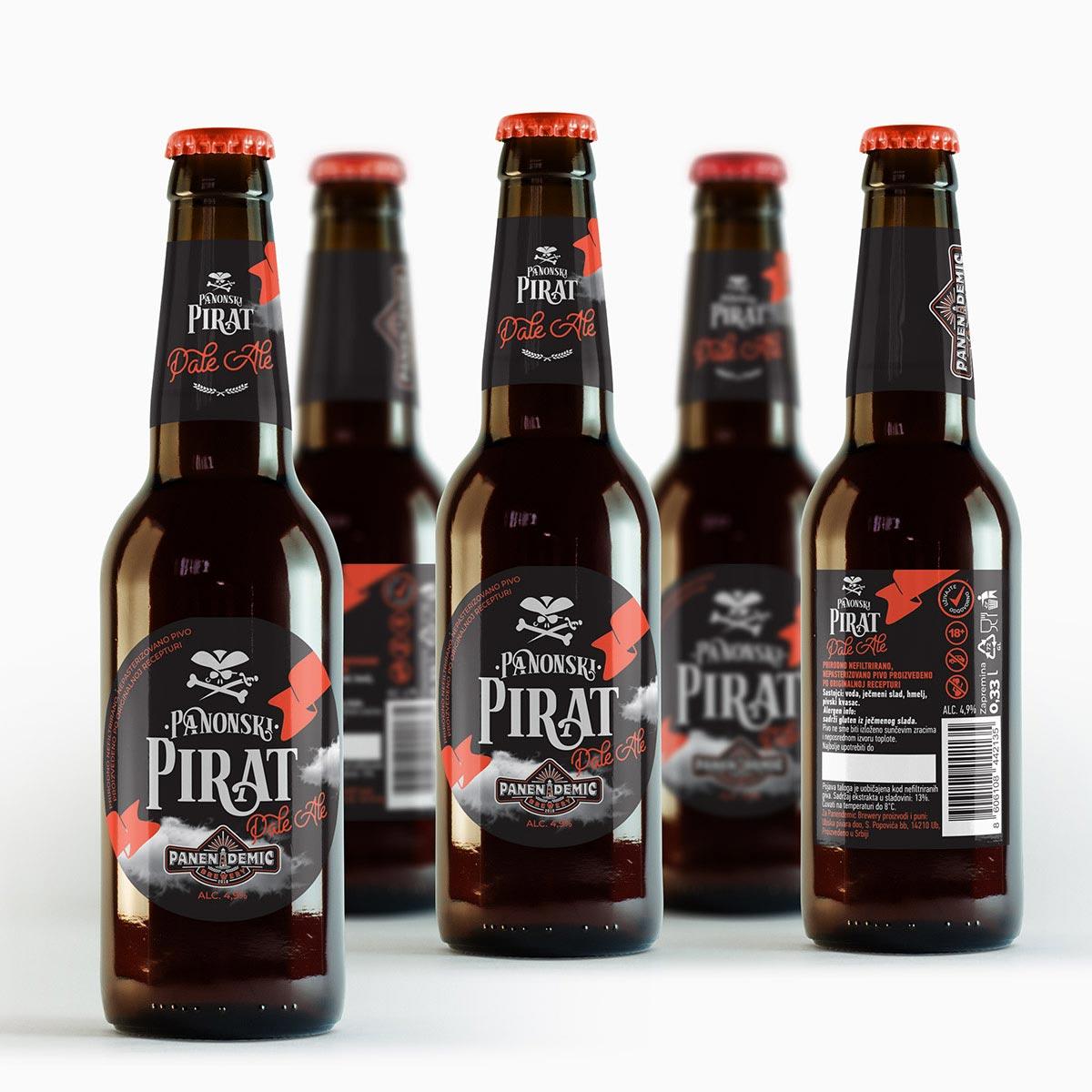 Pirat beer design
