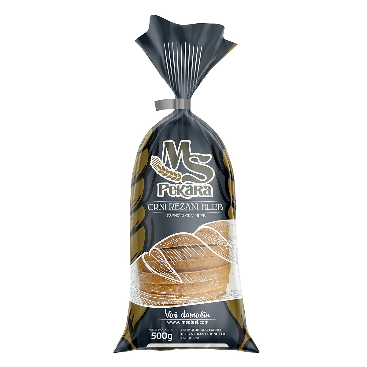 MS bread packaging design