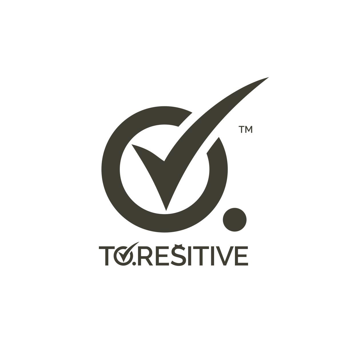 To Rešitve logo design
