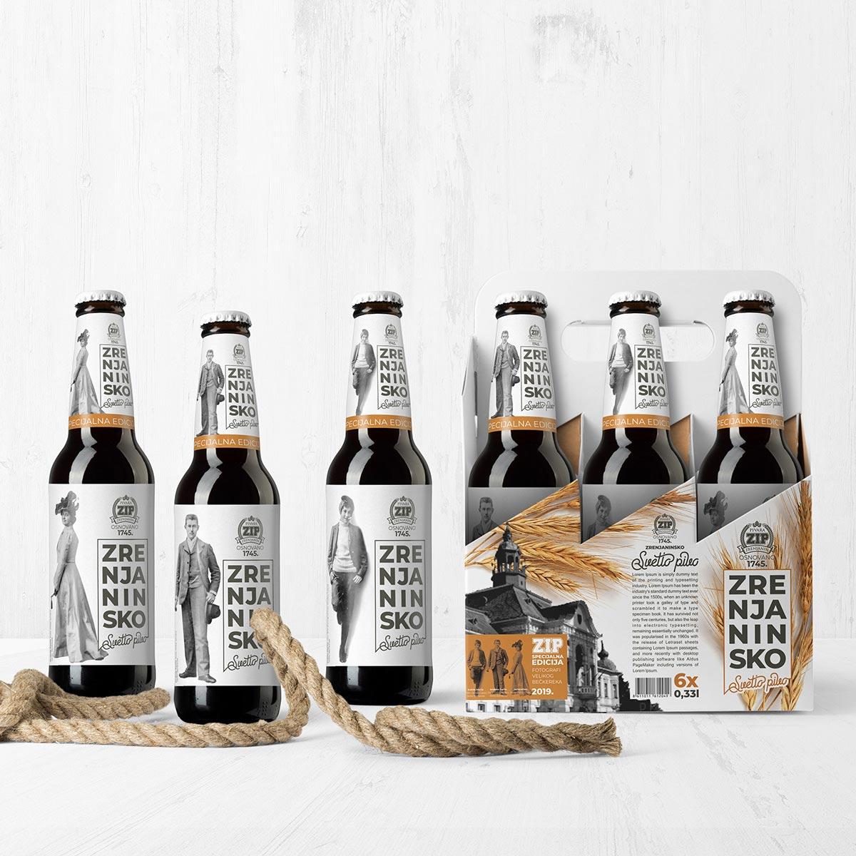 Zrenjanin beer concept design